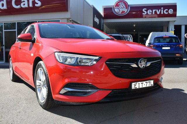 Used Holden Commodore ZB MY18 LT Liftback, 2018 Holden Commodore ZB MY18 LT Liftback Red 9 Speed Sports Automatic Liftback