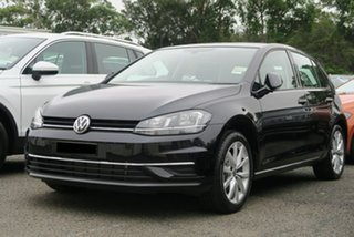 2019 Volkswagen Golf 7.5 MY19.5 110TSI DSG Comfortline Black 7 Speed Sports Automatic Dual Clutch.