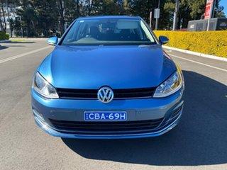 2016 Volkswagen Golf VII MY16 110TSI DSG Highline Blue 7 Speed Sports Automatic Dual Clutch.