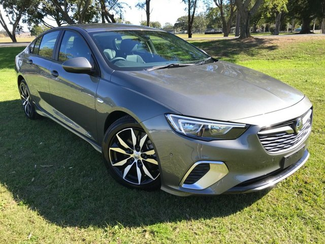 Used Holden Commodore ZB MY18 RS Liftback AWD, 2018 Holden Commodore ZB MY18 RS Liftback AWD Grey 9 Speed Sports Automatic Liftback