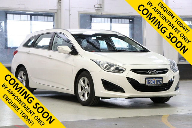 Used Hyundai i40 VF Active, 2012 Hyundai i40 VF Active White 6 Speed Automatic Wagon