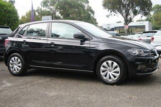 2020 Volkswagen Polo AW MY20 70TSI DSG Trendline Black 7 Speed Sports Automatic Dual Clutch.