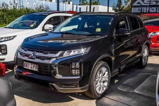 2019 Mitsubishi ASX XD MY20 LS 2WD Black 1 Speed Constant Variable Wagon