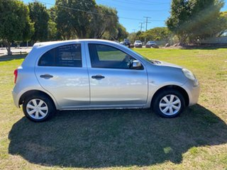 2014 Nissan Micra K13 MY13 ST Silver 5 Speed Manual Hatchback