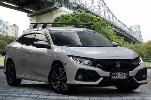 Used Honda Civic 10th Gen MY18 VTi-L, 2019 Honda Civic 10th Gen MY18 VTi-L White 1 Speed Constant Variable Hatchback
