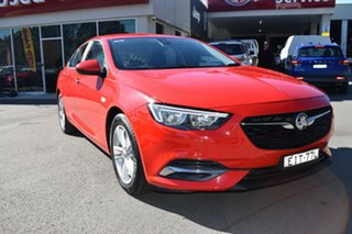 2018 Holden Commodore ZB MY18 LT Liftback Red 9 Speed Sports Automatic Liftback