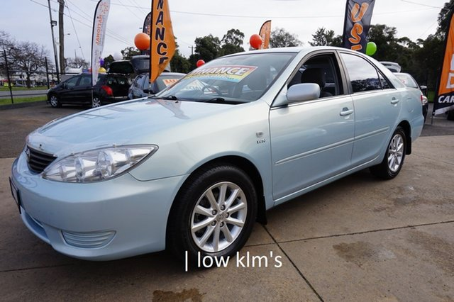 Used Toyota Camry ACV36R MY06 Altise Limited, 2006 Toyota Camry ACV36R MY06 Altise Limited Ice Blue 4 Speed Automatic Sedan