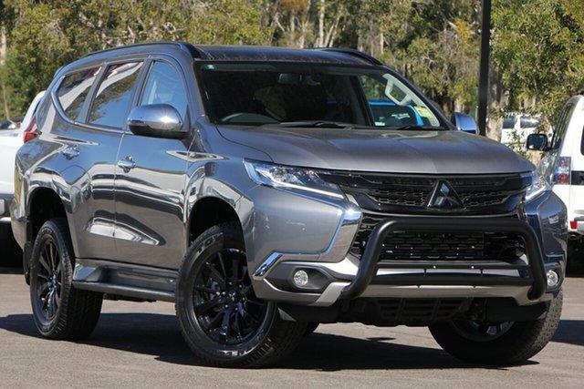 Demo Mitsubishi Pajero Sport QE MY19 Black Edition, 2019 Mitsubishi Pajero Sport QE MY19 Black Edition Titanium 8 Speed Sports Automatic Wagon