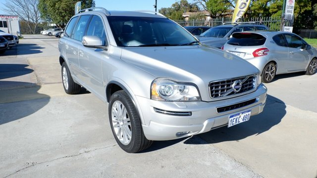 Used Volvo XC90 P28 MY13 Executive Geartronic, 2013 Volvo XC90 P28 MY13 Executive Geartronic Silver 6 Speed Sports Automatic Wagon