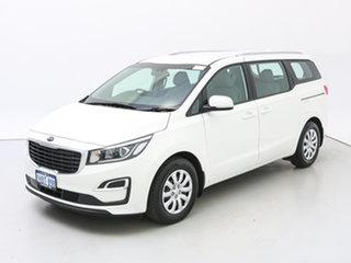 2019 Kia Carnival YP PE MY20 S White 8 Speed Automatic Wagon