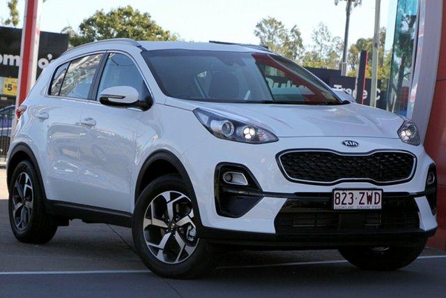 Demo Kia Sportage QL MY20 S 2WD, 2020 Kia Sportage QL MY20 S 2WD Clear White 6 Speed Sports Automatic Wagon