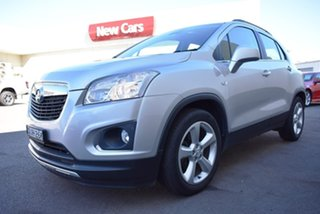 2016 Holden Trax TJ MY16 LTZ Silver 6 Speed Automatic Wagon.
