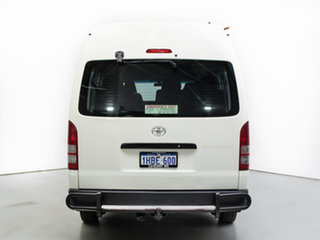 2011 Toyota HiAce KDH223R MY11 Upgrade Commuter White Bus