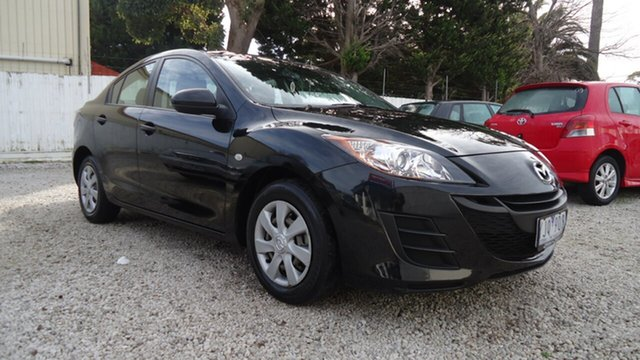 Used Mazda 3 BL10F1 MY10 Neo Activematic, 2011 Mazda 3 BL10F1 MY10 Neo Activematic Black 5 Speed Sports Automatic Sedan
