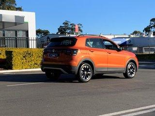 2020 Volkswagen T-Cross C1 MY20 85TSI DSG FWD Life Orange 7 Speed Sports Automatic Dual Clutch Wagon.