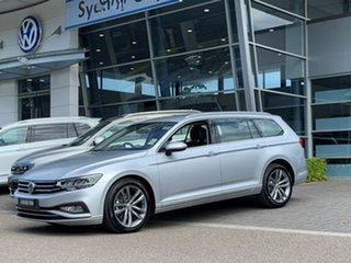 2020 Volkswagen Passat 3C (B8) MY20 140TSI DSG Business Silver 7 Speed Sports Automatic Dual Clutch.