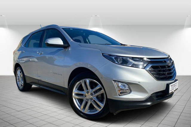 Used Holden Equinox EQ MY18 LTZ FWD, 2018 Holden Equinox EQ MY18 LTZ FWD Silver 9 Speed Sports Automatic Wagon