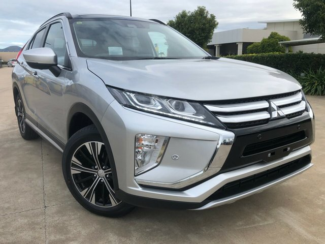 Used Mitsubishi Eclipse Cross YA MY19 Exceed 2WD, 2019 Mitsubishi Eclipse Cross YA MY19 Exceed 2WD Silver 8 Speed Wagon