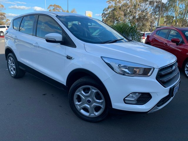 Used Ford Escape ZG Ambiente Bunbury, 2017 Ford Escape ZG Ambiente White 6 Speed Sports Automatic SUV