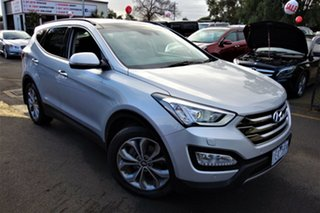 2014 Hyundai Santa Fe DM2 MY15 Highlander Silver 6 Speed Sports Automatic Wagon.