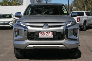 2019 Mitsubishi Triton MR MY19 GLS Double Cab Sterling Silver 6 Speed Sports Automatic Utility