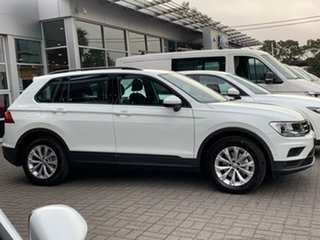 2020 Volkswagen Tiguan 5N MY20 110TSI DSG 2WD Trendline White 6 Speed Sports Automatic Dual Clutch.