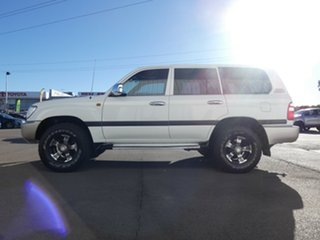 2003 Toyota Landcruiser HZJ105R GXL White 5 Speed Manual Wagon