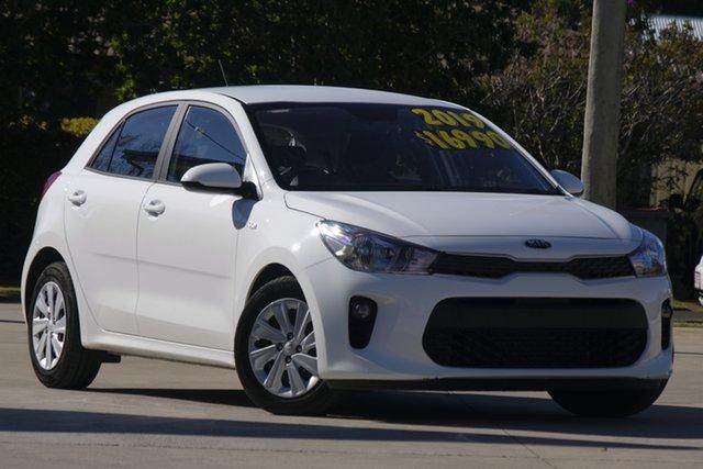Used Kia Rio YB MY20 S, 2019 Kia Rio YB MY20 S White 4 Speed Sports Automatic Hatchback