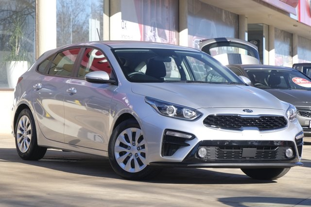 Used Kia Cerato BD MY19 S, 2019 Kia Cerato BD MY19 S Silver 6 Speed Sports Automatic Hatchback