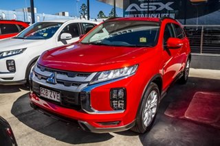 2019 Mitsubishi ASX XD MY20 LS 2WD Red Diamond 1 Speed Constant Variable Wagon