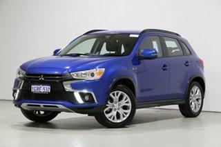 2018 Mitsubishi ASX XC MY19 ES ADAS ( 2WD) Blue Continuous Variable Wagon.