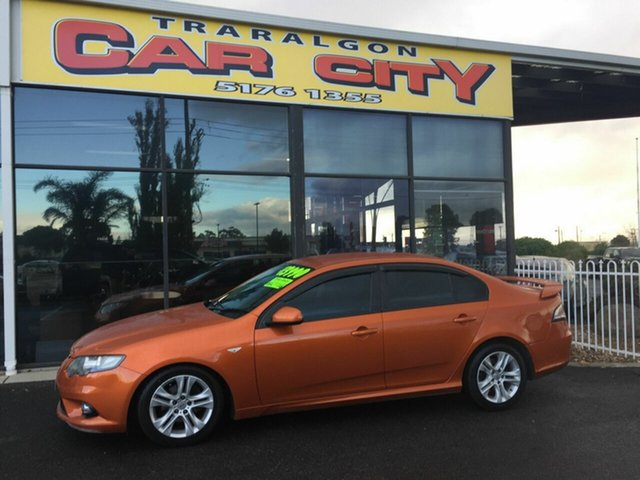 Used Ford Falcon FG MK2 XR6, 2011 Ford Falcon FG MK2 XR6 Orange 6 Speed Auto Seq Sportshift Sedan