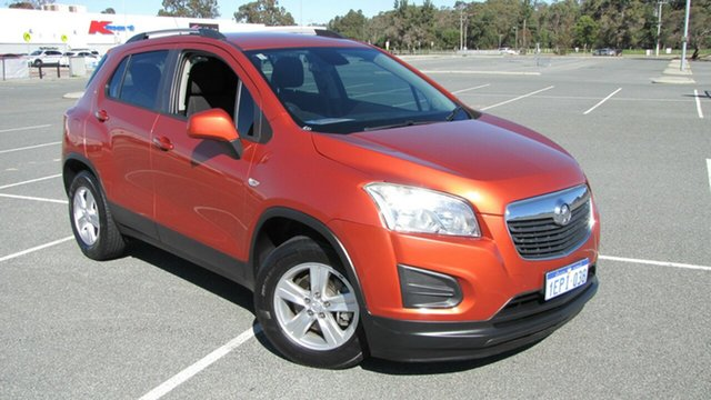Used Holden Trax TJ MY15 LS, 2014 Holden Trax TJ MY15 LS Burnt Orange 6 Speed Automatic Wagon