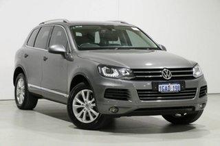 2014 Volkswagen Touareg 7P MY14 150 TDI Grey 8 Speed Automatic Wagon.
