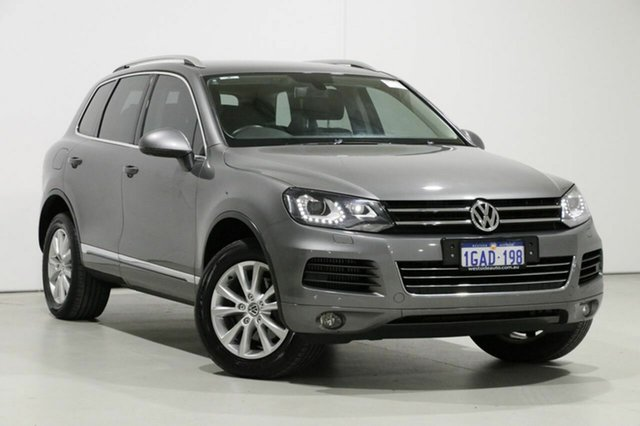 Used Volkswagen Touareg 7P MY14 150 TDI, 2014 Volkswagen Touareg 7P MY14 150 TDI Grey 8 Speed Automatic Wagon