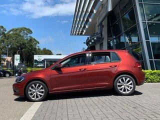 2020 Volkswagen Golf 7.5 MY20 110TSI DSG Highline Red 7 Speed Sports Automatic Dual Clutch Hatchback.