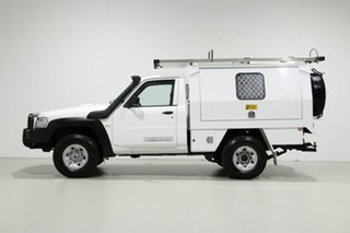 2016 Nissan Patrol MY14 DX (4x4) White 5 Speed Manual Leaf Cab Chassis