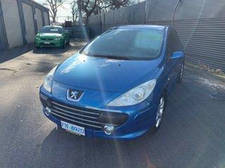 2007 Peugeot 307 T6 XS Blue 5 Speed Manual Hatchback.