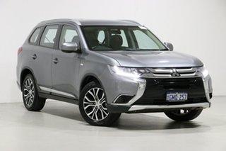 2018 Mitsubishi Outlander ZL MY18.5 ES 5 Seat (AWD) Silver Continuous Variable Wagon.