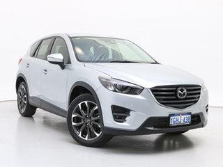 2017 Mazda CX-5 MY17 Akera (4x4) Silver 6 Speed Automatic Wagon.