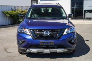 2019 Nissan Pathfinder R52 Series III MY19 ST-L X-tronic 2WD N-TREK Caspian Blue 1 Speed.