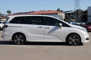 2015 Honda Odyssey RC MY15 VTi-L White Continuous Variable Wagon