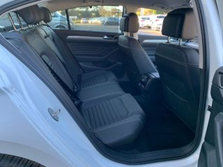2020 Volkswagen Passat 3C (B8) MY20 140TSI DSG Business White 7 Speed Sports Automatic Dual Clutch