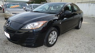 2011 Mazda 3 BL10F1 MY10 Neo Activematic Black 5 Speed Sports Automatic Sedan.