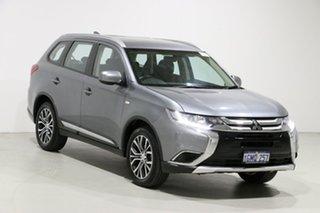 2018 Mitsubishi Outlander ZL MY18.5 ES 5 Seat (AWD) Silver Continuous Variable Wagon