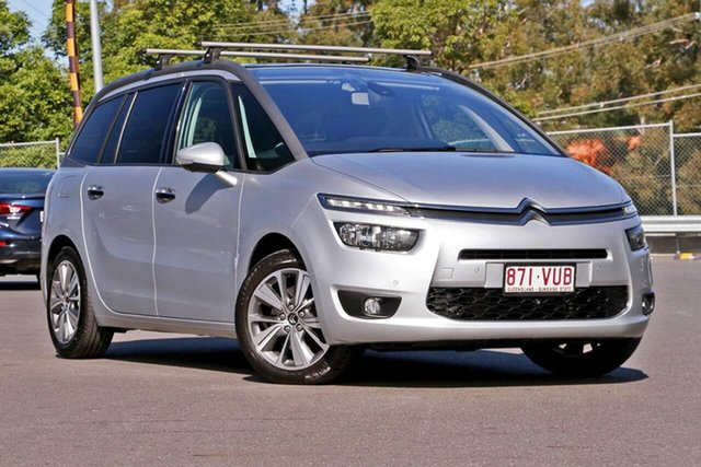 Used Citroen Grand C4 Picasso B7 Exclusive, 2014 Citroen Grand C4 Picasso B7 Exclusive Silver 6 Speed Sports Automatic Wagon