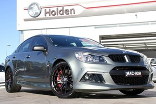 2014 Holden Special Vehicles ClubSport Gen-F MY14 R8 Prussian Steel 6 Speed Manual Sedan