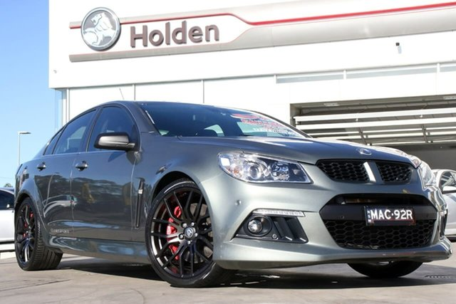 Used Holden Special Vehicles ClubSport Gen-F MY14 R8, 2014 Holden Special Vehicles ClubSport Gen-F MY14 R8 Prussian Steel 6 Speed Manual Sedan