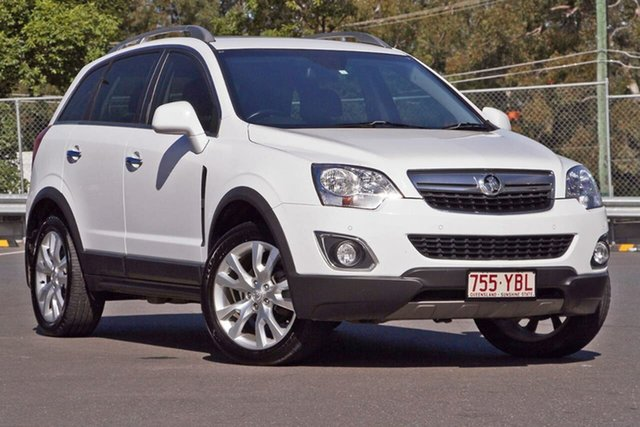 Used Holden Captiva CG MY15 5 LTZ, 2014 Holden Captiva CG MY15 5 LTZ White 6 Speed Sports Automatic Wagon