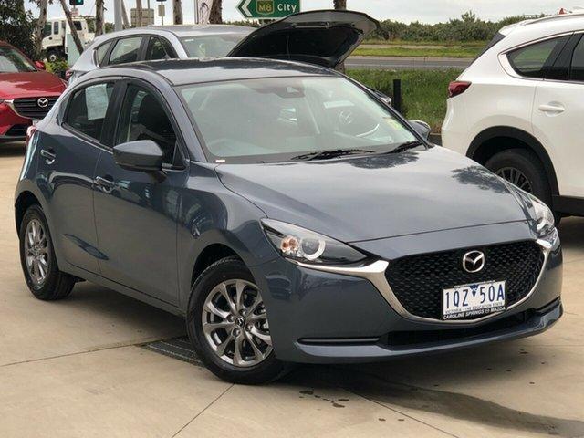 Demo Mazda 2 DJ2HAA G15 SKYACTIV-Drive Pure Ravenhall, 2020 Mazda 2 DJ2HAA G15 SKYACTIV-Drive Pure Polymetal Grey 6 Speed Sports Automatic Hatchback